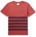 Saturdays NYC - Randall Striped Cotton T-Shirt