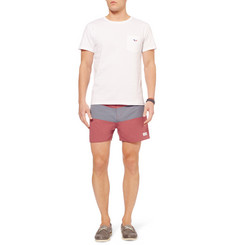 Saturdays Surf NYC Grant Mid-Length Swim Shorts