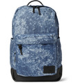 Saturdays Surf NYC Greg Printed Cotton-Canvas and Leather Backpack