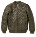Lot78 - Quilted-Leather Bomber Jacket