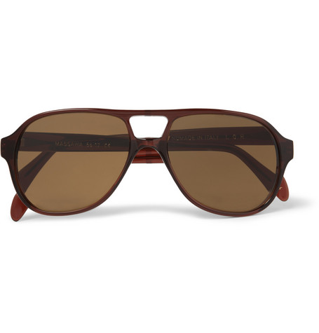 L.G.R Massawa Acetate Aviator Sunglasses