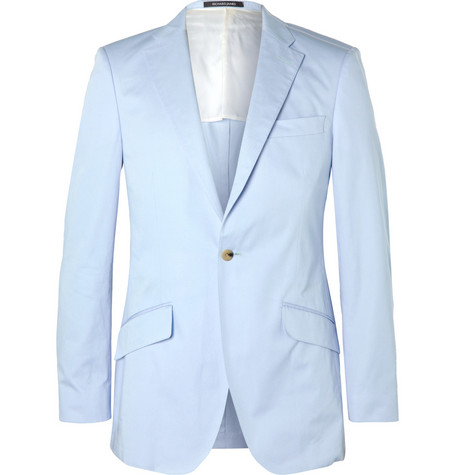 Richard James Slim-Fit Cotton Suit Jacket