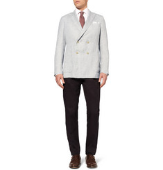Richard James Unstructured Linen and Silk-Blend Blazer