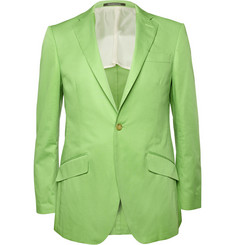 Richard James Slim-Fit Cotton Blazer