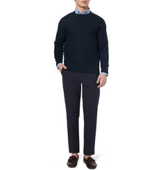 Richard James Knitted-Linen Crew Neck Sweater