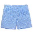 Richard James - Mid-Length Boat-Print Swim Shorts