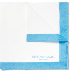 Richard James Cotton Pocket Square
