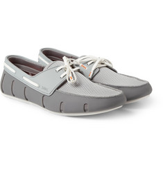 SWIMS Rubber and Mesh Loafers