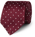 Turnbull & Asser Taz Polka-Dot Silk Tie