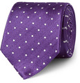 Turnbull & Asser - Taz Polka-Dot Silk Tie