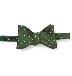 Turnbull & Asser Taz Polka-Dot Silk Bow Tie