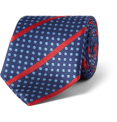 Turnbull & Asser Patterned Woven-Silk Tie