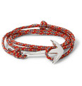 Miansai - Rope and Silver-Plated Anchor Bracelet