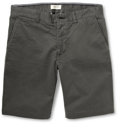 NN.07 Slim-Fit Stretch-Cotton Shorts