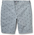 NN.07 Florence Dot-Embroidered Cotton Shorts