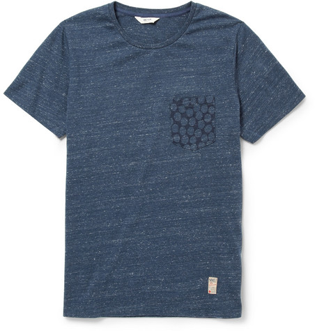 NN.07 Tedd Slub Cotton-Blend Jersey T-Shirt