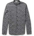 NN07 - Samuel Slim-Fit Dot-Print Cotton Oxford Shirt
