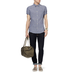 NN.07 Clay Slub Cotton and Linen-Blend Shirt