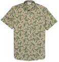 NN.07 Derek Printed Cotton Short-Sleeved Shirt