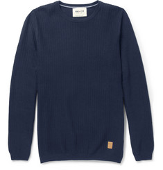 NN.07 Miho Textured-Knit Cotton Sweater