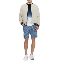 Hentsch Man Woven-Cotton Bomber Jacket
