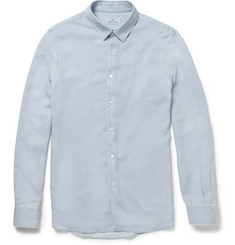 Hentsch Man Slim-Fit Chambray Shirt