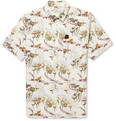 Hentsch Man - Printed Short-Sleeved Cotton Shirt