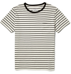 Hentsch Man Striped Cotton-Jersey T-Shirt