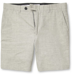 Hentsch Man Patterned Cotton Shorts