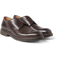 Heschung Crocus Leather Derby Shoes