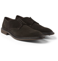 Heschung Suede Derby Shoes