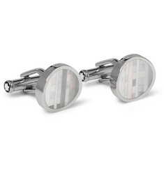 Montblanc Mother-of-Pearl Cufflinks