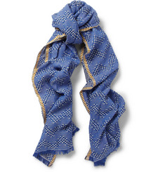 Missoni Patterned Lightweight Cotton-Blend Scarf