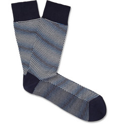 Missoni Patterned Cotton-Blend Socks