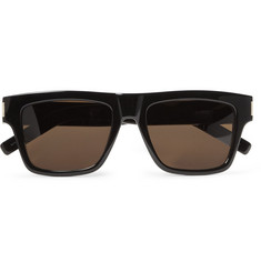 Saint Laurent Bold 5 Acetate Square-Frame Sunglasses