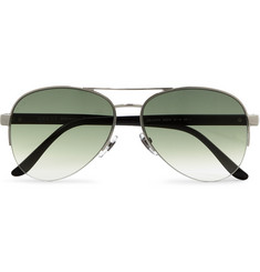 Gucci Metal and Acetate Aviator Sunglasses