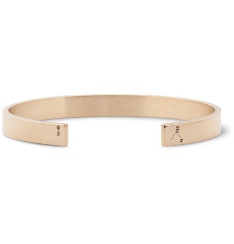 Le Gramme 29g Polished 18-Karat Red Gold Cuff
