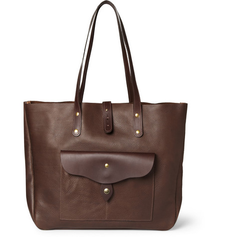 Bill Amberg Hunter Full Grain Leather Tote Bag