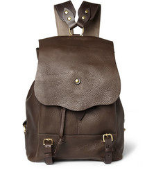 Bill Amberg Hunter Full Grain Leather Backpack