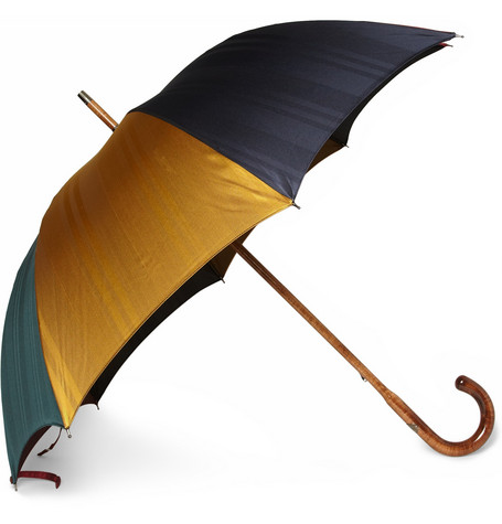 Francesco Maglia Lord Maple Wood Handle Umbrella