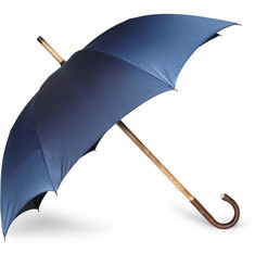 Francesco Maglia Lord Hazelnut Wood Handle Umbrella
