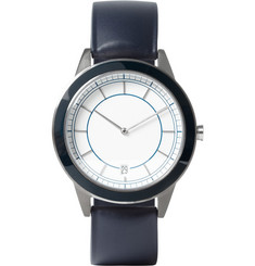 Uniform Wares 351 Series Brushed-Steel Wristwatch
