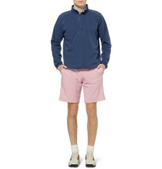 Peter Millar Zip-Collar Fleece Golf Sweatshirt