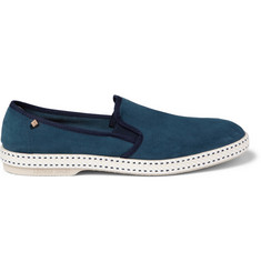 Rivieras Sultan Suede Slip-On Shoes