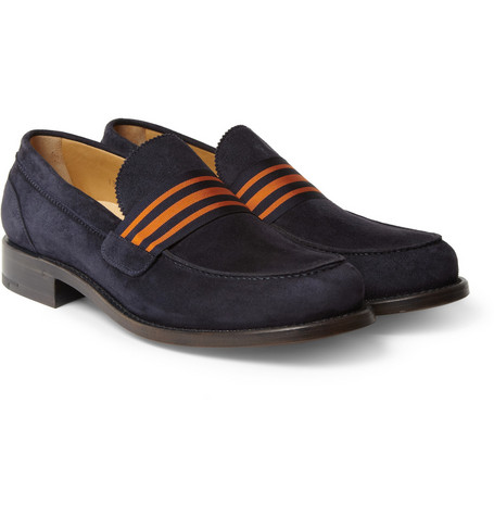 O'Keeffe Cambridge Suede Loafers