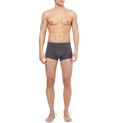 Hanro Cotton-Blend Boxer Briefs