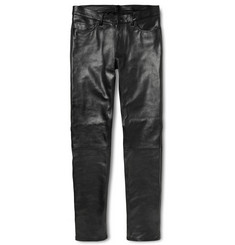 Acne Studios Skinny-Fit Depp Fly Leather Trousers