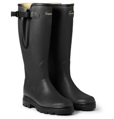 Le Chameau Vierzon Leather-Lined Wellington Boots