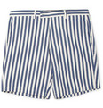 Hentsch Man - Regular-Fit Striped Cotton-Canvas Shorts