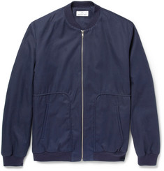 Hentsch Man Cotton-Twill Bomber Jacket